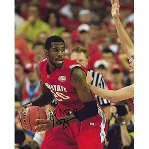 Greg Oden, Ohio State Buckeyes, Signed, Autographed, Basketball, 8X10 Photo, a Coa with the Proof Photo of Greg Signing Will Be Included