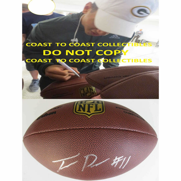 Trevor Davis Green Bay Packers, Cal Bears, Signed, Autographed, NFL Duke Football,a COA with the Proof Photo of Trevor Signing Will Be Inlcuded
