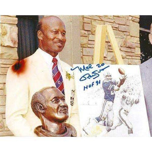 Mel Renfro, Dallas Cowboys, Oregon Ducks, Hof, Hall of Fame, Signed, Autographed, 8x10 Photo, Coa