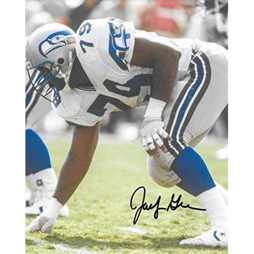 Jacob Green, Seattle Seahawks, Signed, Autographed, 8X10 Photo, a COA with the Proof Photo of Jacob Signing Will Be Included