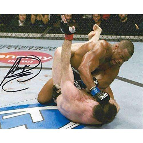 Rashad Evans, MMA, UFC, Signed, Autogrpahed, 8X10 Photo, a COA with the Proof Photo of Rashad Signing Will Be Included.