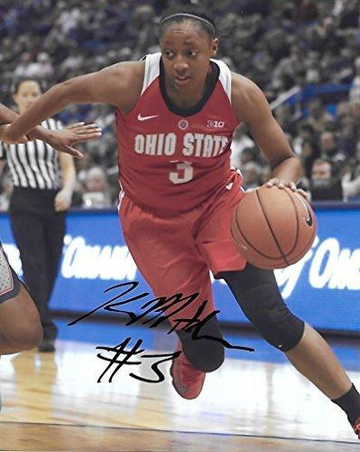 Kelsey Mitchell, Ohio State Buckeyes, Signed, Autographed, 8x10 Photo, a COA with the Proof Photo of Kelsey Signing Will Be Included.