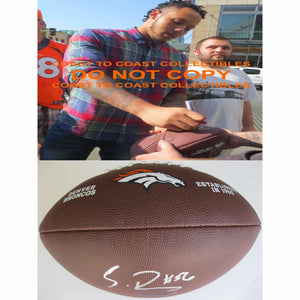 Shane Ray, Denver Broncos, Missouri, Signed, Autographed, NFL Logo Football, a COA with the Proof Photo of Shane Signing Will Be Included