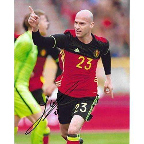 Laurent Ciman, Montreal Impact, Belgium, Signed, Autographed, 8x10 Photo, a Coa with the Proof Photo of Laurent Signing the Ball Will Be Included