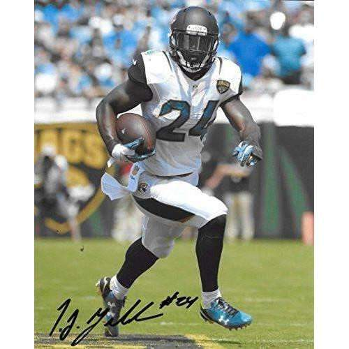 Tj Yeldon Jacksonville Jaguars, Alabama, Signed, Autographed, 8X10 Photo, a COA with the Proof Photo of Tj Signing Will Be Included