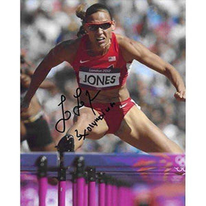 Lolo Jones, Track & Field, Olymics, USA, Signed, Autographed, Hockey 8x10 Photo, a Coa with the Proof Photo of Lolo Signing Will Be Included.