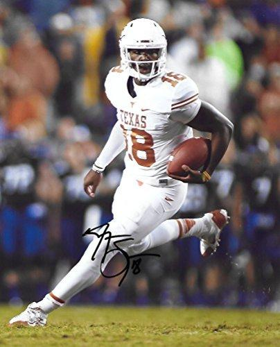 Tyrone Swoopes, Texas Longhorns, Signed, Autographed, 8x10 Photo, A COA with the proof photo will be included