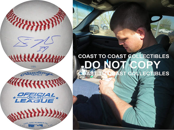 Devin Mesoraco Cincinnati Reds New York Mets signed autographed baseball proof