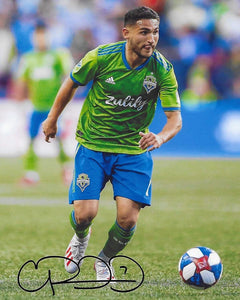 Cristian Roldan Seattle Sounders signed autographed soccer 8x10 photo. COA proof