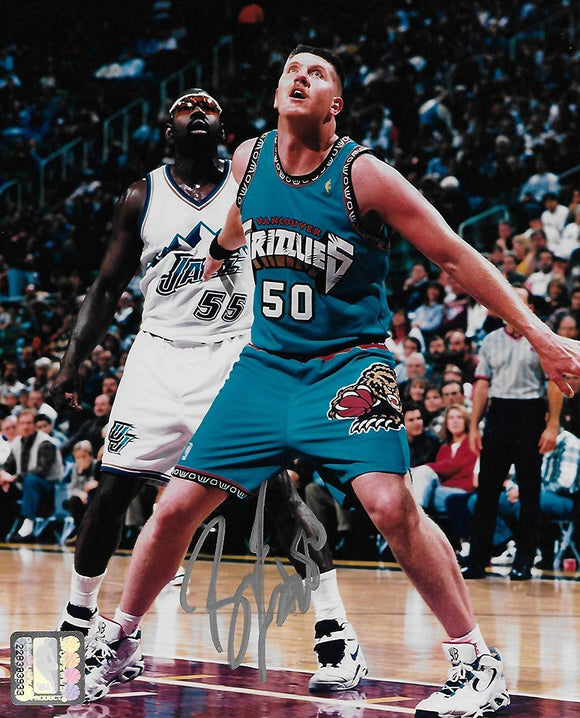 Bryant Reeves Vancouver Grizzlies, signed, autographed, Basketball 8X10 Photo, Coa will be included