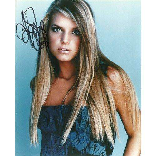 JESSICA SIMPSON,SIGNED,AUTOGRAPHED 8X10,PHOTO,COA,RARE HARD TO FIND PHOTO. Star