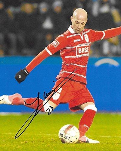 Laurent Ciman, Montreal Impact, Belgium, Signed, Autographed, 8x10 Photo, a Coa with the Proof Photo of Laurent Signing the Ball Will Be Included=