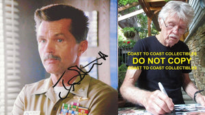 Tom Skerritt actor signed autographed Viper Top Gun 8x10 photo COA, STAR