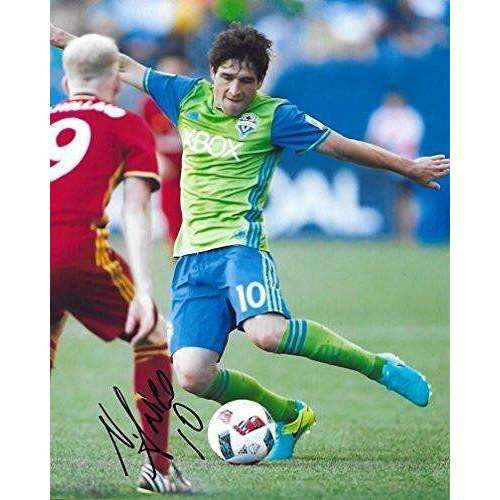 Nicolas Lodeiro, Seattle Sounders FC, Signed, Autographed, 8X10 Photo, a Coa with the Proof Photo of Nicolas Signing Will Be Included.-