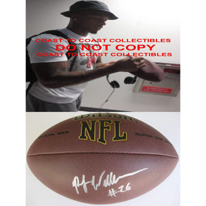 PJ Williams, New Orleans Saints, Florida State Seminoles, Fsu, Signed, Autographed, NFL Football, a Coa with the Proof Photo of PJ Signing the Football Will Be Included