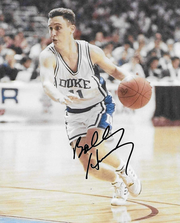 Bobby Hurley Duke Blue Devils signed, autographed, Basketball 8x10 photo,proof COA