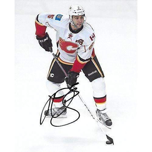 Mark Giordano, Calgary Flames, Signed, Autographed, NHL, Hockey, 8X10 Photo, a COA with the Proof Photo of Mark Signing Will Be Included,