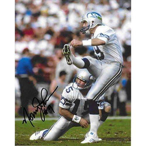 Norm Johnson, Seattle Seahawks, Signed, Autographed, 8X10 Photo, a COA With the Proof Photo of Norm Signing Will Be Included