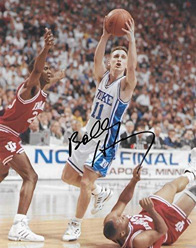 Bobby Hurley Duke Blue Devils signed, autographed, Basketball 8x10 photo, proof COA