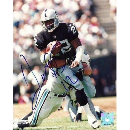 Harvey Williams, Oakland Raiders, La Raiders, Lsu Tigers, Signed, Autographed, 8x10 Photo, Coa, Rare Hard Photo to Find