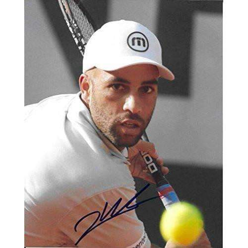 James Blake, Tennis Player, Signed, Autographed, 8x10 Photo, a Coa and Proof Photo of James Signing Will Be Included-