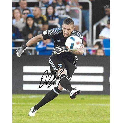 David Bingham, San Jose Earthquakes, USA, Signed, Autographed, 8x10 Photo, a Coa with the Proof Photo of David Signing Will Be Included