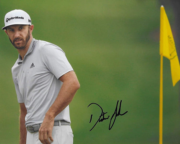 Dustin Johnson PGA Golfer signed, autographed 8x10 Photo,Proof COA