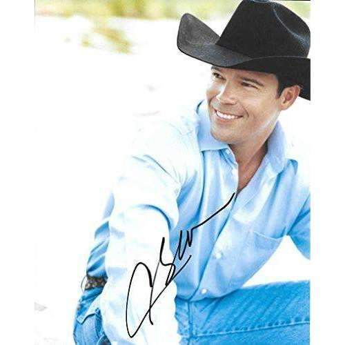 Clay Walker, Country Music Star, Signed, Autographed, 8X10 Photo, a COA and the Proof Photo of Clay Signing Will Be Included