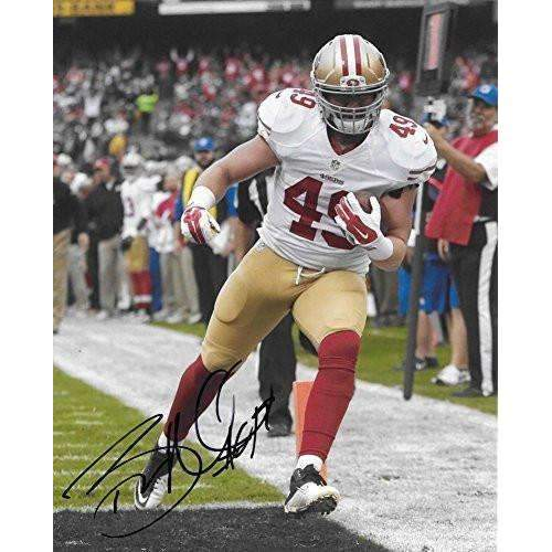 Bruce Miller, San Francisco 49ers, Signed, Autographed, 8X10 Photo,,