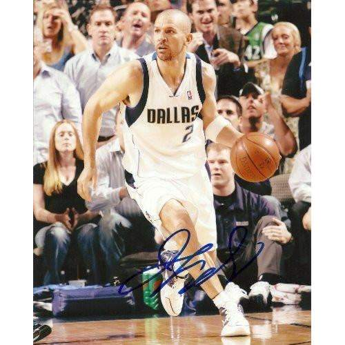 Jason Kidd, Dallas Mavericks, Signed, Autographed, 8x10 Photo, Coa