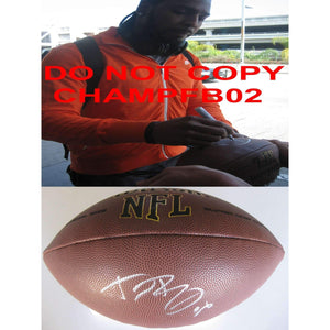 Dwayne Bowe Cleveland Browns, Kansas City Chiefs, Lsu Tigers signed, autographed NFL football