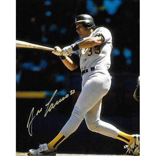 Jose Canseco, Oakland A's, Signed, Autographed, 8X10 Photo, a COA With The Proof Photo of Jose Signing Will Be Included-