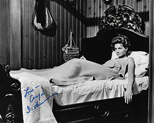 Angie Dickinson actress autographed 8x10 photo proof COA. STAR