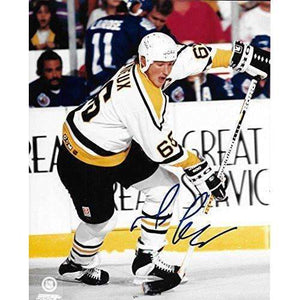 Mario Lemieux Pittsburgh Penguins, Signed, Autographed, 8x10, Photo, a Coa with the Proof Photo of Mario Signing Will Be Included