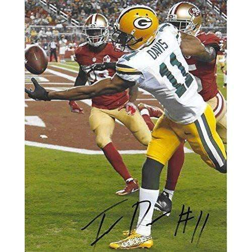 Trevor Davis Green Bay Packers, Signed, Autographed, 8X10 Photo, a COA with the Proof Photos of Trevor Signing Will Be Included..