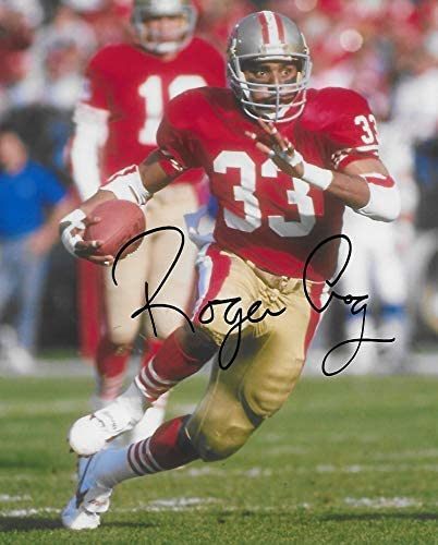 Roger Craig San Francisco 49ers signed autographed football 8x10 Photo proof COA-