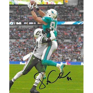 Jordan Cameron, Miami Dolphins, Signed, Autographed, 8x10 Photo, a COA with the Proof Photo of Jordan Signing Will Be Included.