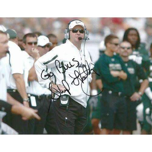 Skip Holtz, University of South Florida, USF Bulls, Signed, Autographed 8x10, Photo, a Coa with the Proof Photo of Skip Signing Will Be Included
