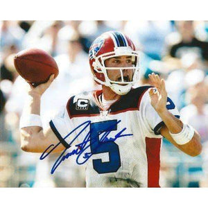 Trent Edwards, Buffalo Bills, Stanford Cardinals, Signed, Autographed, 8x10 Photo, Coa with Proof