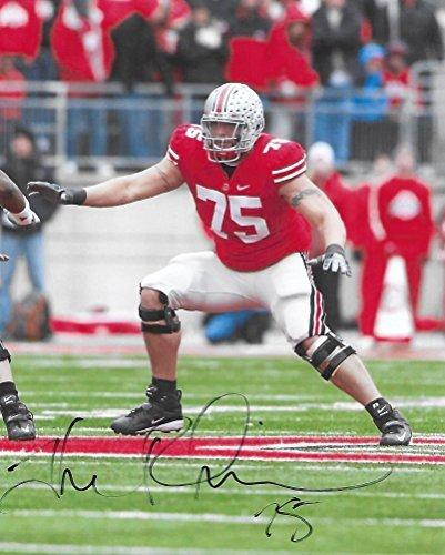 Alex Boone, Ohio State Buckeyes, signed, autographed, 8x10 photo, a Coa will be included