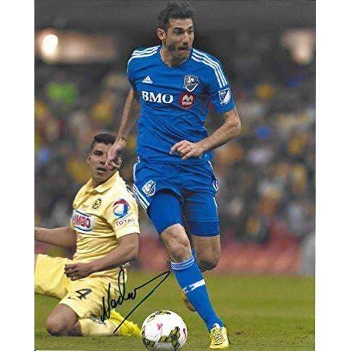Ignacio Piatti, Montreal Impact, Argentine, Signed, Autographed, 8x10 Photo, a Coa with the Proof Photo of Ignacio Signing the Ball Will Be Included