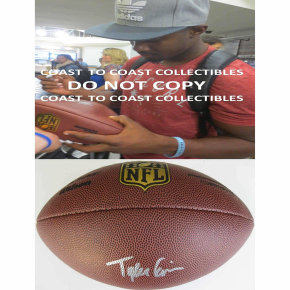 Tyler Ervin, Houston Texans, San Jose State, Signed, Autographed, NFL Duke Football, A COA with the Proof Photo of Tyler Signing Will Be Included