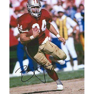 Brent Jones, San Francisco 49ers, signed, autographed, 8x10 Photo - proof photo and COA Included