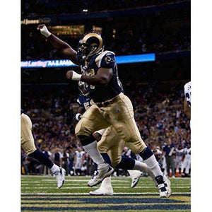 La'Roi Glover, St Louis Rams, Signed, Autographed, 8X10 Photo, a Coa Will Be Included