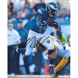 Wendall Smallwood, Philadelphia Eagles, West Virginia, Signed, Autographed, 8X10 Photo, a COA with the Proof Photo of Wendall Signing Will Be Included-