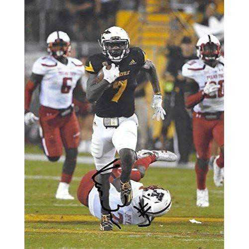 Kalen Ballage, Arizona State Sun Devils, ASU, Signed, Autographed, 8X10 Photo, a COA with the Proof Photo of Kalen Signing Will Be Included..