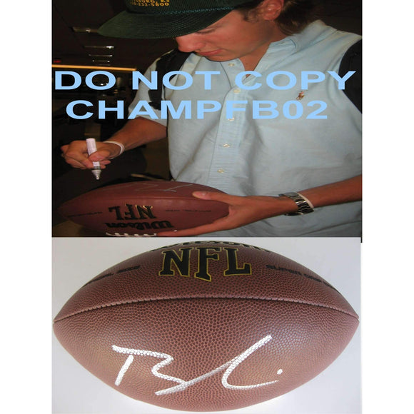Blaine Gabbert San Francisco 49ers, Missouri Tigers signed, autographed NFL football - COA and proof