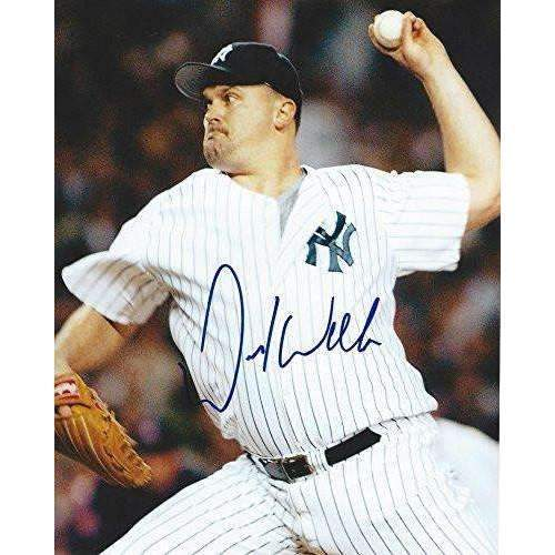 David Wells, New York Yankees, No Hitter, Signed, Autographed 8x10 Photo, a Coa with the Proof Photo Will Be Included