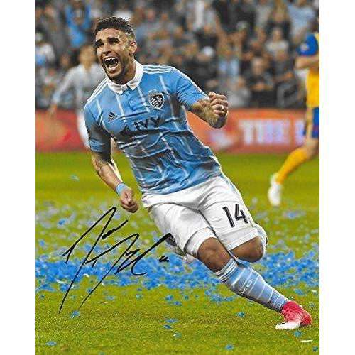 Dom Dwyer, Sporting Kansas City, Signed, Autographed, 8x10 Photo, a Coa with the Proof Photo of Dom Signing Will Be Included..