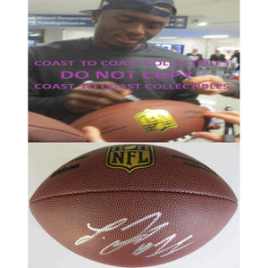 Laquon Treadwell, Minnesota Vikings, Ole Miss, Signed, Autographed, NFL Duke Football, a COA with the Proof Photo of Laquon Signing Will Be Included